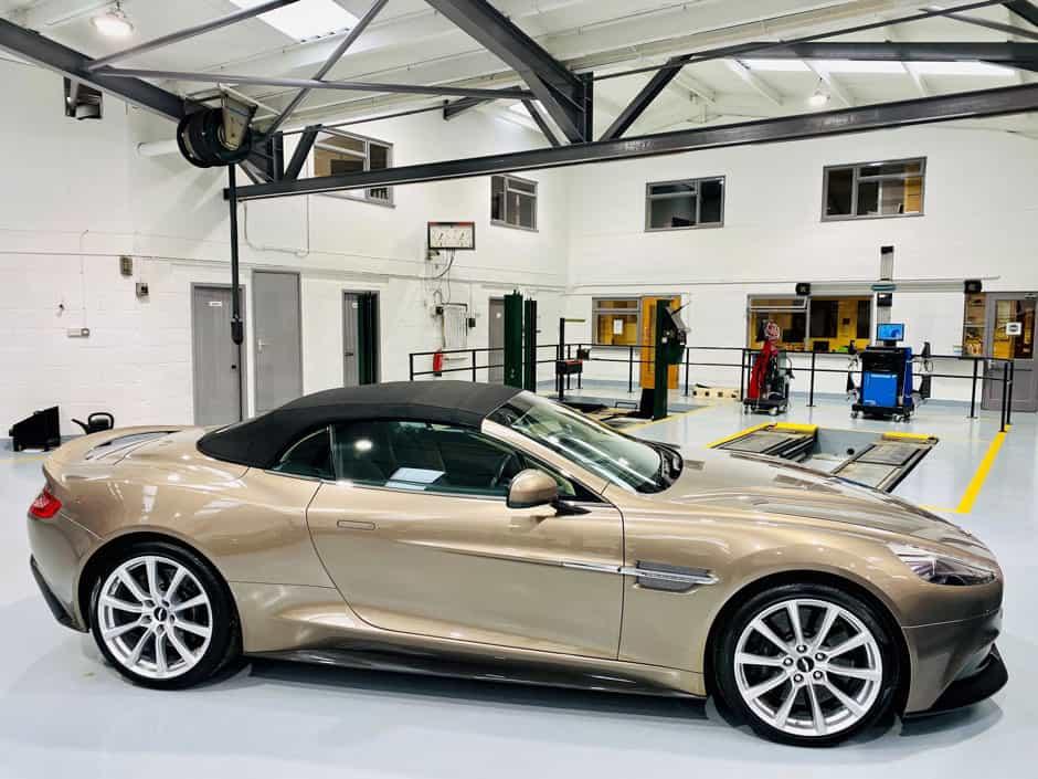 Aston martin car storage