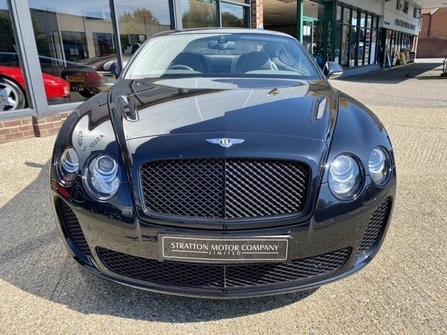 Bentley Continental Supersports Front Profile