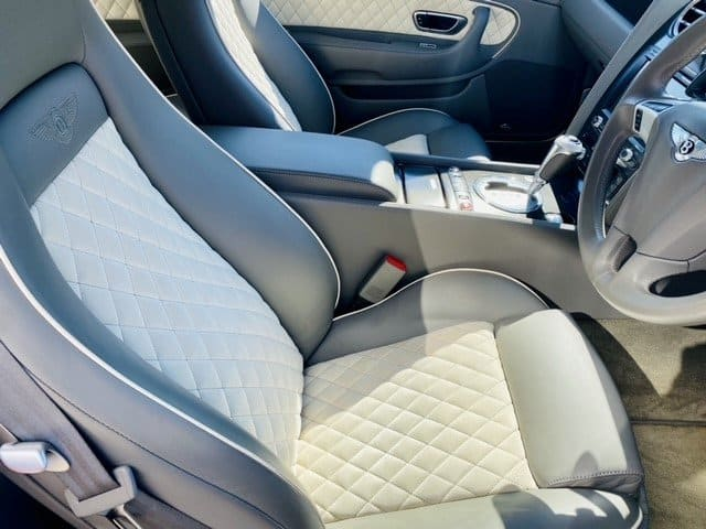 Bentley Continental Supersports Front Seat