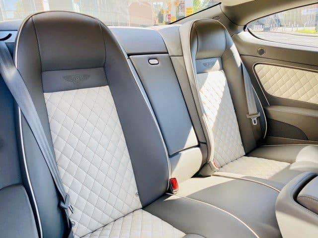 Bentley Continental Supersports Back Seat