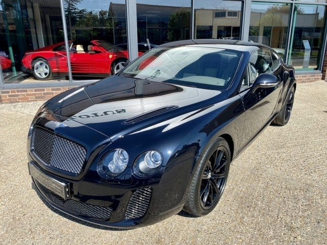 Bentley Continental Supersports Front 3/4